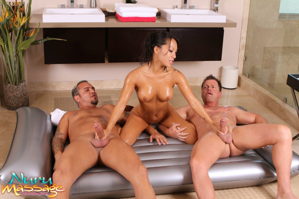 Asian threesome massage videos 3930