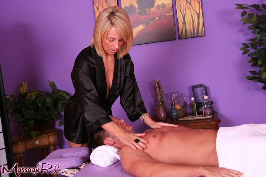 massage parlor surprise