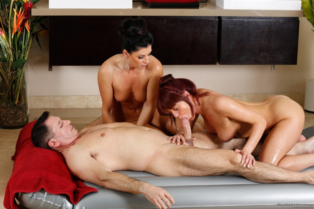 Mature Office Threesome