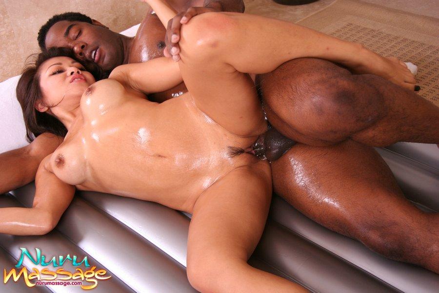 asian black massage