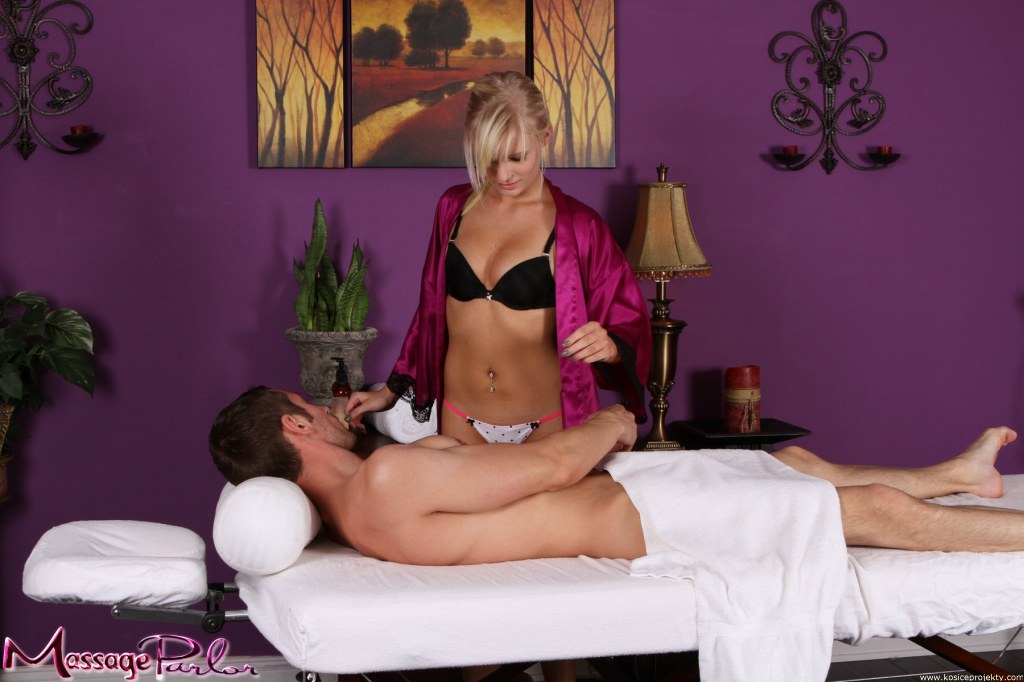 Massage parlor and escort girl
