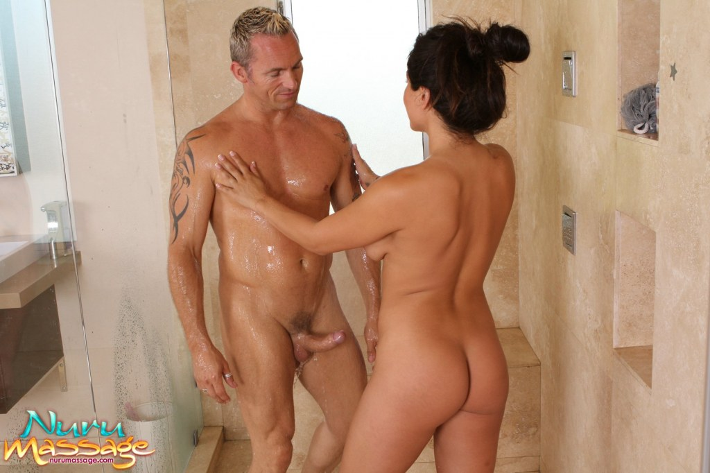 The masseuse will rub your entire body with the nuru nuru and slide on ...