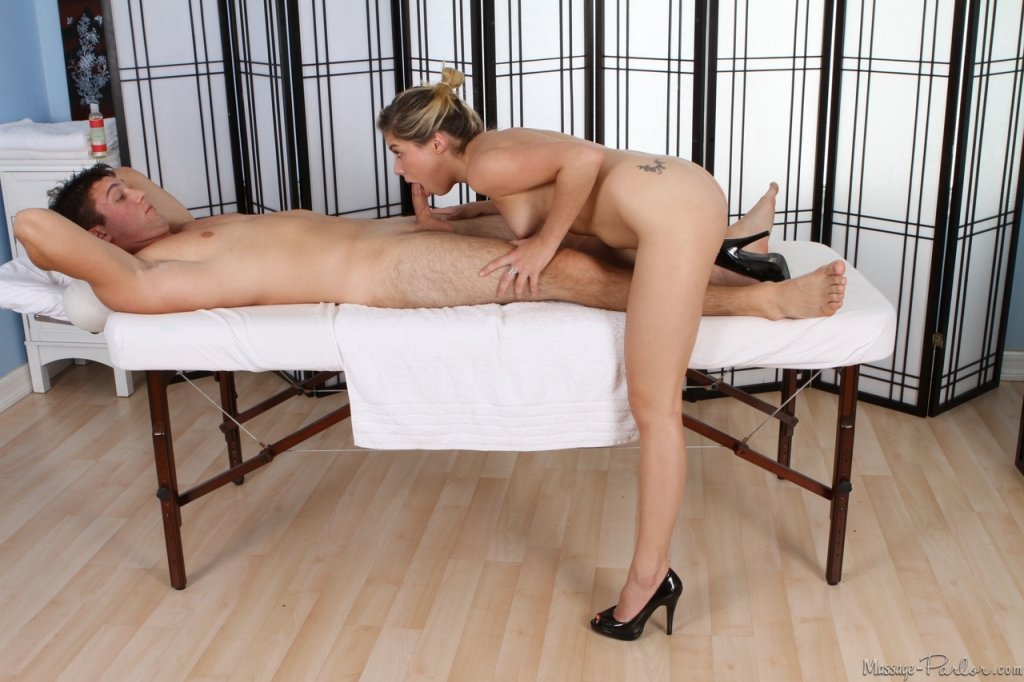 Massage with blowjob happy ending can not